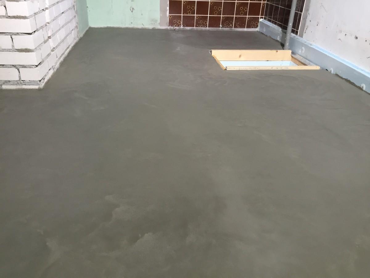 Voorkeur Betonvloer Afwerken Met Cement EH41